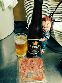 イカの塩辛にビールってありですか?
