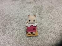 シルバニアファミリーの人形なのですが。。。  この子は何の動物なのでしょうか?サイズは子供サイズです。 商品紹介のページにも載っていませんでした。