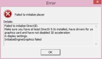 DMM版(PC)のプリンセスコネクトRe:Diveを起動すると画像のようなメッセージが表示されてしまい起動できません。 DMM版(PC)のシャドウバースは問題なく起動するのですが…。 よろしくお願いします。