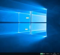 Windows 10の画面によくわからないクリーム色の四角に入った文字列がたまに出てきて触れないし、消えないし、これ何なんでしょうか。