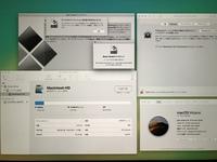 iMacにWindows10をBootCampアシスタントにて導入しようとしているのですが、 『ディスクにパーティションを作成できませんでした』 エラーがどうやっても出てしまい、導入できずにいます。改 善法をいろいろ試したのですが、詳しい方教えていただけないでしょうか?  スペック、導入環境などは画像の通りです。