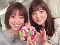 ↓の画像の右の佐藤梨那アナと左の中川絵美里アナのどちらがタイプですか?