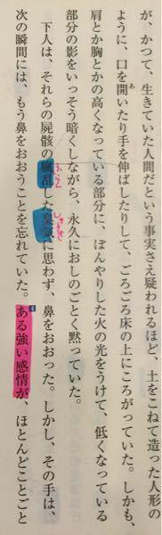 高1現代文、芥川龍之介の羅生門についての質問です。 「ある感情」とはどんな感情ですか???
