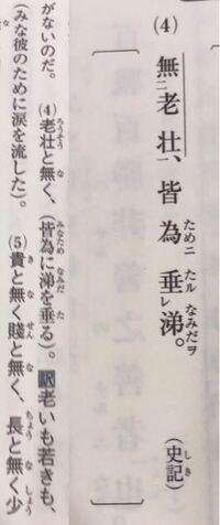 漢文中には「彼」という語はありませんが、口語訳には「彼のために」となっているのは漢文中の「為」の下に「彼」という語が省略されていると考えればいいんですか?
