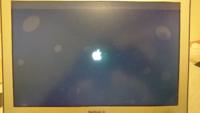 MacのOSをアップデートしようとしたらこの画面で止まってしまいました。何をしても変わりません、涙 どうすれば良いでしょうか??