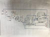 画像の丸をつけたダイオードの逆方向飽和電流を測定したい時の回路を考える問題が出たのですがどうしたらいいか分かりません。 なるべく詳しく教えてください。