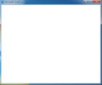 Microsoft OneDriveが不調です。というか使えません。 Windows10からOneDriveへデータを保存していたことを思い出し、別のPC、Windows7をOneDriveアプリを入れて、このPCにデータを入れようと思いました。しかし、問題が発生。下の写真のように、ログイン画面からログインした後、画面が真っ白になってそこから進めません。なぜでしょうか。一応、再インストール(...