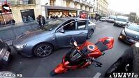この赤いバイクの名前わかる方いますか?