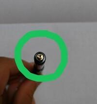 スマッシュのシャーペンの0.3を使っています。 下の丸の所に芯が詰まってしまったのですが、対処法はありますか? 押しても出てきません。