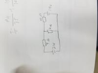 回路の6Ωの抵抗にかかる電圧を重ね合わせの理で解いて下さい