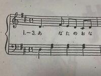 楽譜の読み方の質問です。 この写真が出ている範囲の音符の読み方を教えてください( ; ; ) 可能であれば上下段ともお願いします。  ピアノ 楽譜 譜面