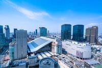 名張大都市圏第二の都市梅田駅付近です 札幌なんかより都会ですね