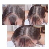 前髪が変。 前髪が綺麗な三角になりません。 どうすれば良いですか? ちなみに、シースルーバングで触覚を作りたいです。