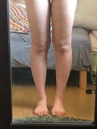 膝の形を綺麗に出す方法教えて下さい!