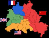 第二次世界大戦終結後の連合国のベルリン分割統治について質問です。 第二次世界大戦終結後、米英ソ仏の連合国は、ドイツの首都、ベルリンを分割統治したそうですが、なぜベルリンを分割統治したのでしょうか?