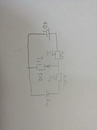 テブナンの定理について。 以下の問題について、テブナンの定理を用いた 抵抗(5Ω)に流れる電流I3の求め方がわかりません。 教えていただきたいです。  宜しくお願いしますm(._.)m