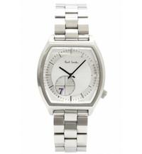 30歳でポールスミスの腕時計はダサいですか? 個人的な感想で大丈夫なので教えてください。  10月からスーツ出勤になりました。 今までは会社がスーツ出勤ではなかったため、スーツに合わせ るような腕時計を持っていなかったので、この機会に腕時計を購入しました。  購入したのが画像のポールスミスのNo.7のホワイトカラーなのですが、30歳男性会社員でこの腕時計は無しですかね?  個人...