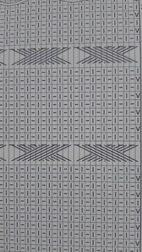 編み物に詳しい方、教えてください。 画像の編み図のような一目ゴム編みの交差模様は、具体的にどのように編んでいけばいいのでしょうか? 調べても全然出てきません…。 よろしくお願いしま す。
