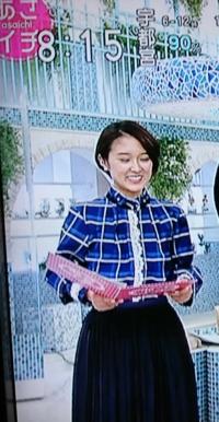 渋めカラーのファッションの近江友里恵アナ 大人の女性を演出しましたか。
