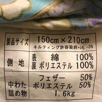 洗濯表記がない布団ですが、これは自宅もしくはコインランドリーで洗えますか? (側地) 表→綿100% 裏→ポリエステル100% (中綿、詰物) フェザー50% ポリエステル50%
