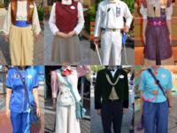 ディズニーランドのキャストの衣装は素敵だと思いませんか?