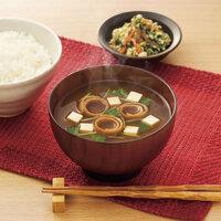 朝ご飯に、赤だしの味噌汁、ご飯は如何でしょうか?