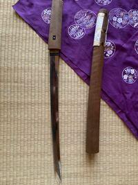脇差の日本刀を手放したいのですがどれくらいで売れるのでしょうか? 錆はありませんが拭けば取れるほどの汚れが少し目立ちます。