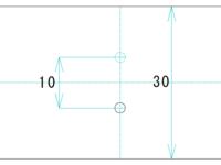 arduinoで物体の移動量を測るものを作りたいのですが、どんなセンサを使うのかどんな構造にするのか悩んでいます。 物体は直径2mm程度の円柱、移動量は10mm程度、センサ等が設置できる幅は30mmです。 物体は回転せず水平に直線的に移動するだけです。 物体は弱い力で動くのでなるべく非接触でわずかな移動も検知したいです。 添付の図は上から見た図です。  物体が円柱じゃなければこんな...