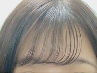 前髪についてです。 この前髪は薄過ぎますか?厚すぎますか?