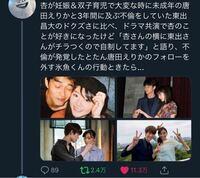 唐田えりか 東出昌大 宮沢氷魚 杏 宮沢氷魚さんって杏さんのこと好きって語ってたんですか?(テレビで?)