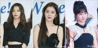 画像左からスルギ(Red Velvet)、アイリーン(Red Velvet)、モモ(TWICE)誰が一番好きですか?