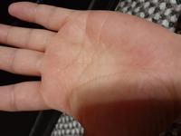 手相で、わたしの手のひらの中心に神秘十字線らしい線があるようなんですが、手相に詳しい方おしえてください。よろしくお願いします。