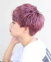 メンズ 髪 色
