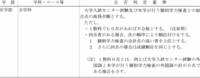 国公立大学の二次試験に小論文があるのですが、この合格判定基準の「一科目でも0点があれば不合格とする」の「一科目」に小論文も入ると思いますか?