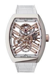 フランクミュラーのこのスカスカ時計、税抜460万円だそうです。 時間も見えないし、ファッションとしても微妙だし。 欲しい人は「値段が高いから」以外に理由がないのでしょうね?