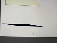 Illustratorで長方形ツールを使用すると画像にあるみたいに菱形?みたいになってしまいます。 なおす方法教えてくださると嬉しいです…。