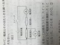 電気抵抗60Ωの抵抗器b、電気抵抗12Ωの抵抗器cを用いて回路をつくり、スイッチを入れ、電圧計が3.0Vを示すように電源装置を調節した。このとき、電流計は何mAをしますか。  とあるのですが、答 えが50mAです。 ...