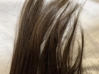 アッシュグレーに毛先だけ染める(グラデーション)つもりなのですが、この髪色ならブリーチなしでいけると思いますか?縮毛矯正なし、ブリーチ経験なし、髪染め経験なしです。