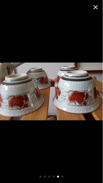 九谷焼の茶器らしいんですが 商品名わかる方いらっしゃいますか??