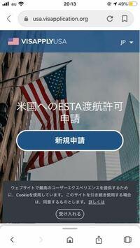 エスタの申請をこのサイトからしたんですけど、 このサイトは偽物とかではないですか…?