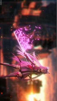 アフターエフェクトでライトセーバーを使わずとも、この写真のような剣から光が出るエフェクトはなんでしょうか? 教えて下さい!