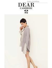 この「DEAR cashimere」というブランドはどこの国のブランドかご存じの方いらっしゃいますか?古着屋さんで購入しとても気に入ったのですが、検索しても日本のサイトではなかなか出てこないので ⋯  ご存じの方...