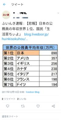 日本の若者がこぞって「公務員」を目指すのは、給料が世界一高いからですか?