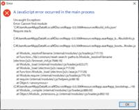 windows10のエラー パソコンを起動したら、画像のようにエラーが表示されました。 どうしたら消えますか?