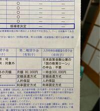 入学時特別増額貸与奨学金の欄の「国の教育ローンの申込:不要」の場合はこの奨学金は受けられないのですか? それとも「国の教育ローン:必要」の時に必須提出書類の融資できない事が記載された日本政策金融公庫...