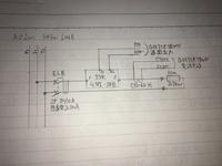 ヒーター抵抗値について。  ヒーターの抵抗値についてです。 単相200V回路において0.1kwヒーターが並列に7本(計0.7kw)設置されている場合に理論値では、電流=700w/200v=3.5A・各ヒーター の抵抗=200V/0.5...