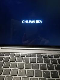 chuwi タブレット hi10 air windows10 電源オンで画像のロゴ画面から起動しません。 どうすれば起動するかわかる方いらっしゃいますか?