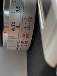 シャッター優先のフィルムカメラを使っています。 このG.N.の数値を変えるとどうなるのか教えて欲しいです。