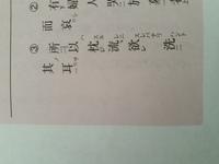 書き下し文に従って、漢文に訓点をつける問題について質問させて頂きます。③の問題では、枕に一レ点、所以に二点がついています。私はどちらにもレ点をつけたのですが、この回答が間違っている 理由はなんでしょうか。
