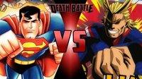 アメコミのスーパーマンと僕のヒーローアカデミアのオールマイトどっち強いですか?